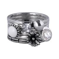 Charmins zilveren ringen