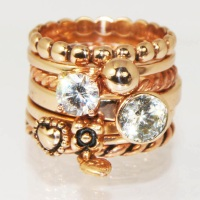 Charmins XL golden look ringen