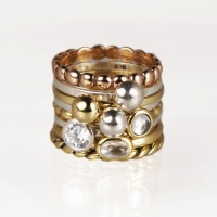 Charmins golden look ringen
