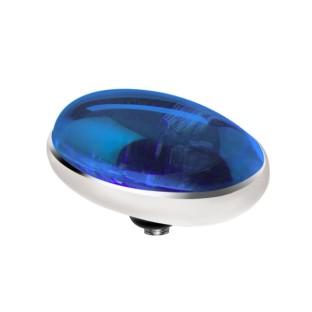 Melano Twisted zetting oval blue