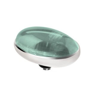 Melano Twisted zetting oval turquoise