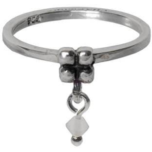 Charmins dangling diamond milky white 088