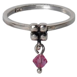 Charmins dangling diamond pink 096