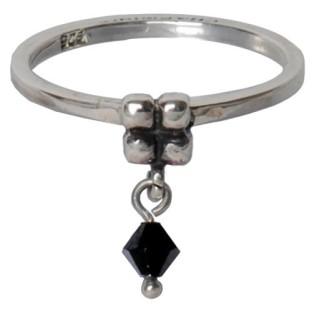 Charmins dangling diamond black 099