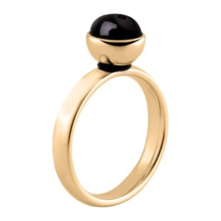 Melano Twisted ring gold