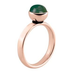 Melano Twisted ring rose gold