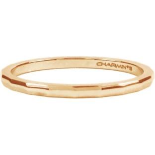 Charmins steel ring R312 rose gold