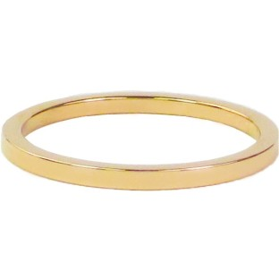 Charmins steel ring R313 gold