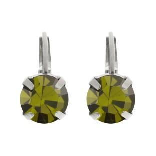 Biba oorbellen olivine