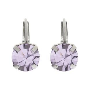 Biba oorbellen violet