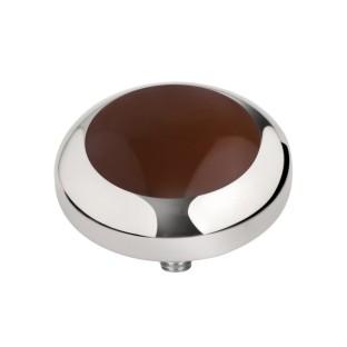 Melano Vivid zetting brown 6 mm