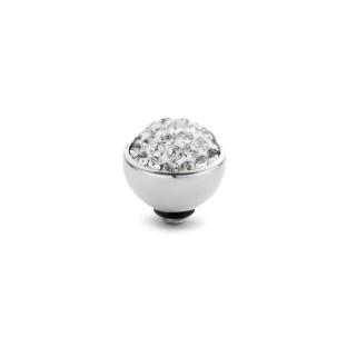Melano Twisted zetting shiny stone crystal 6 mm