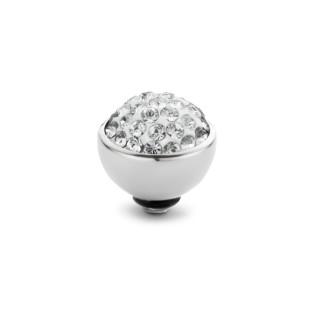 Melano Twisted zetting shiny stone crystal 8 mm