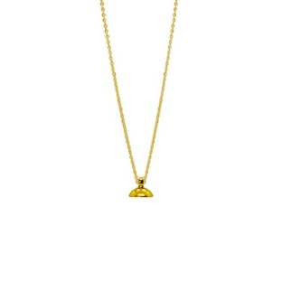 Drupt chain ketting gold