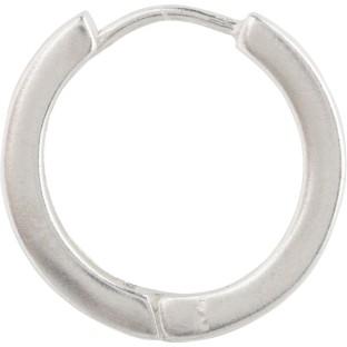 Charmins zilveren creolen 17 mm E49