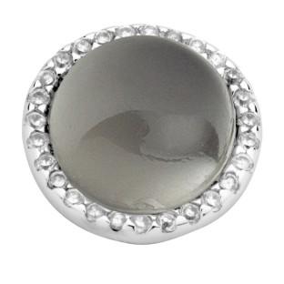 Enchanted element natural stone grey moonstone