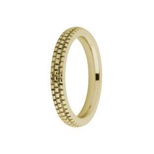 Melano Friends ring Sarah FR10 Refined gold