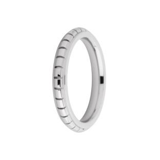 Melano Friends ring Sarah FR11 Engraved stainless steel