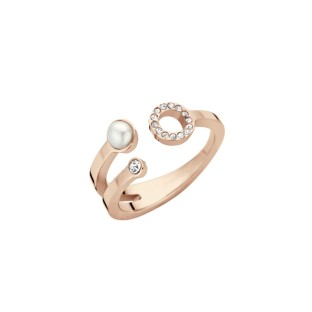 Melano Friends ring trio rose gold