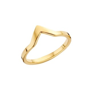 Melano Friends rings pointed gold