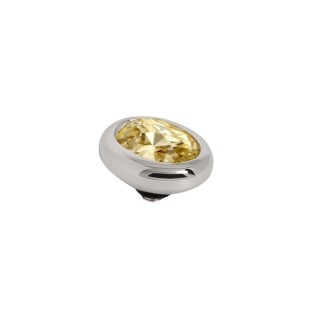 Melano Twisted zetting oval 10 mm golden shadow