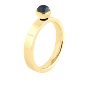 Melano Twisted ring Tatum gold