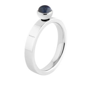 Melano Twisted ring Tatum stainless steel