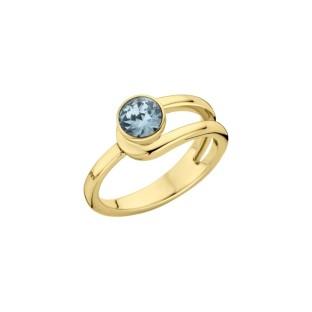 Melano Twisted ring Taheera gold
