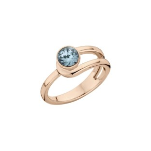 Melano Twisted ring Taheera rose gold