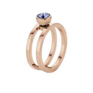 Melano Twisted ring Trista rose gold