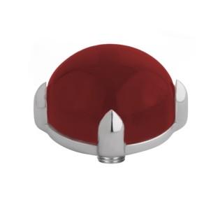 Melano Twisted zetting bold dark red 12 mm