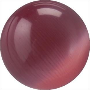 Melano Cateye stone balletje dark pink