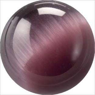 Melano Cateye stone balletje dark purple