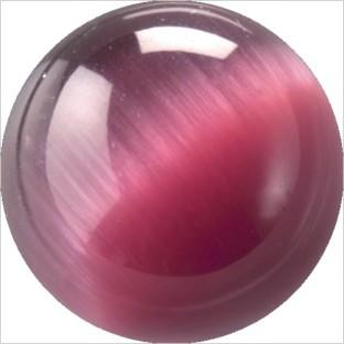 Melano Cateye stone balletje light purple