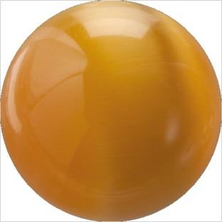 Melano Cateye stone balletje orange