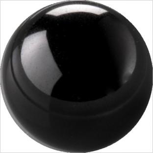 Melano Cateye stone zirkonia black