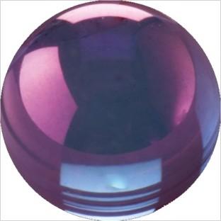 Melano Cateye stone zirkonia goldplated purple