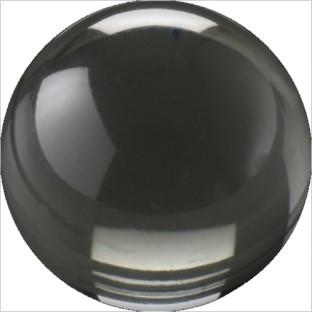 Melano Cateye stone zirkonia transparent black