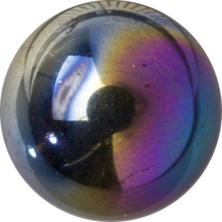 Melano Cateye special stone flash crystal black