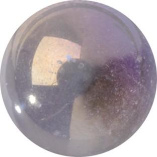 Melano Cateye special stone flash crystal white