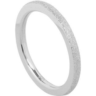 Charmins Complement aanschuifring sanded steel OHR35