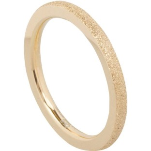 Charmins Complement aanschuifring sanded gold OHR37
