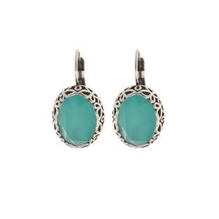 Biba oorbellen 8551 pacific opal