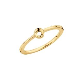 Melano Twisted ring Petite gold