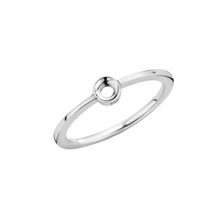 Melano Twisted ring Petite stainless steel