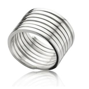 Enchanted zilveren ring breed