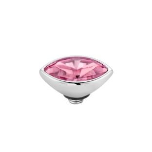Melano Twisted zetting petite marquise rose
