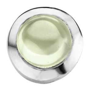 Enchanted round cabochon light green