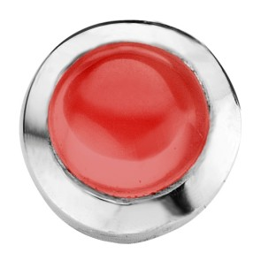 Enchanted ringserie round cabochon red