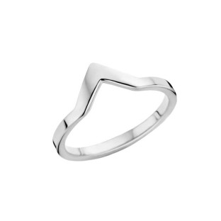 Melano Friends ring pointed stainless steel